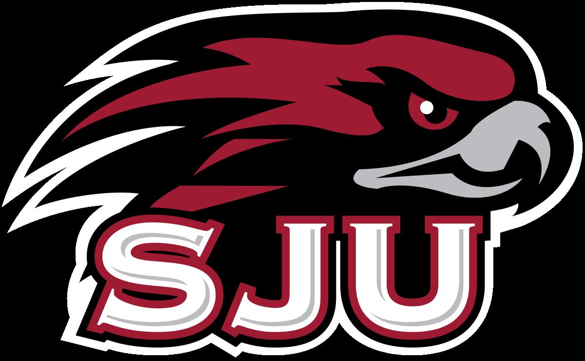 Go hawks football clipart vector royalty free library Saint Joseph's Hawks - Wikipedia vector royalty free library