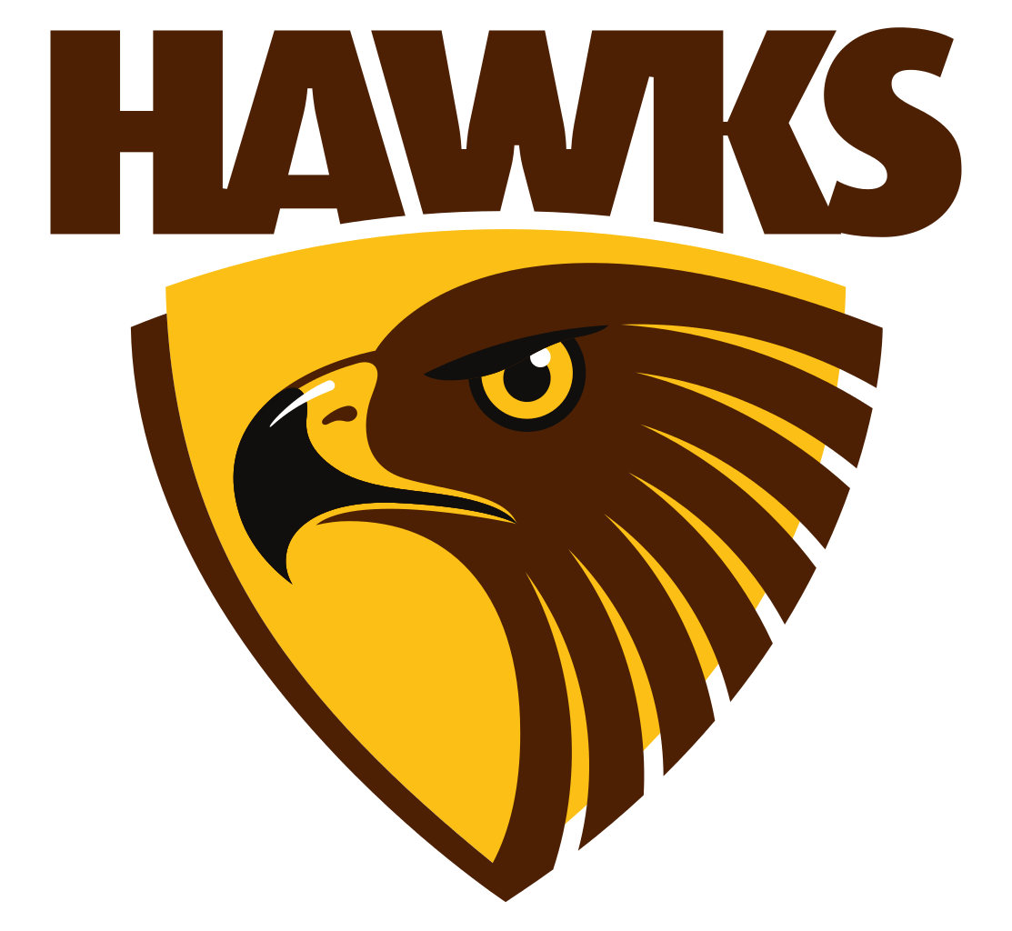 Hawk football clipart vector download Congratulations to Hawthorn FC on winning the AFL Championship ... vector download