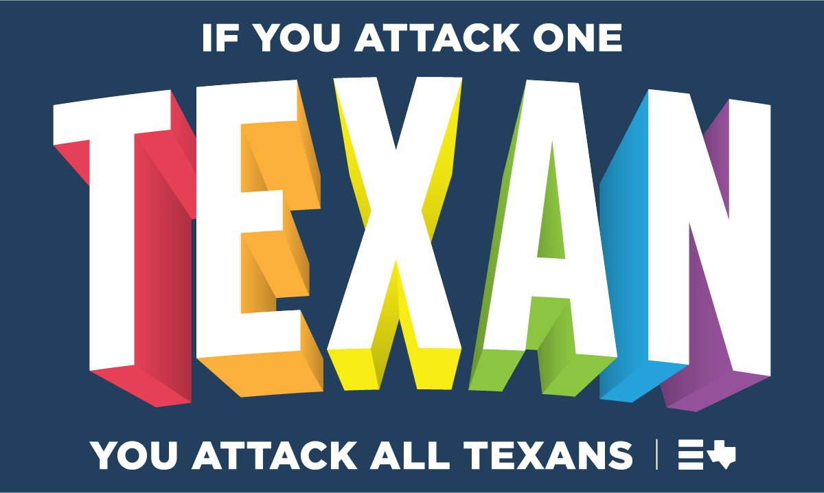 Go texan day clipart stock Equality Texas stock