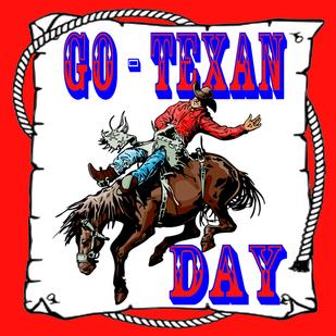 Go texan day clipart jpg royalty free Go - Texan - DANCING COWGIRL DESIGN jpg royalty free
