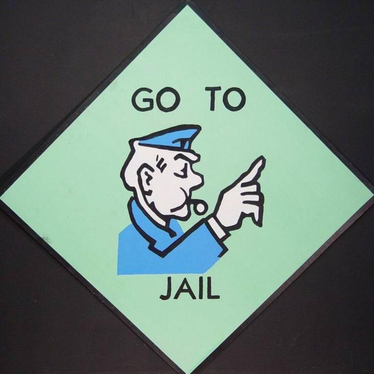 Go to jail clipart image transparent Myth #12: The uninsured will go to jail | Third Way - Clip Art Library image transparent