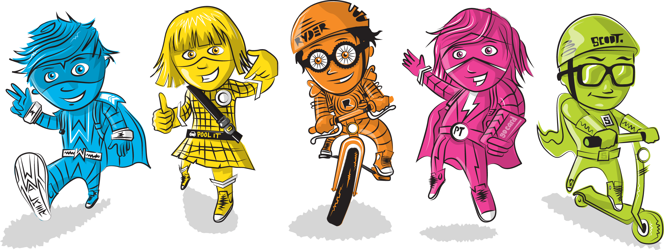 Go to school clipart freeuse library Active School Travel freeuse library