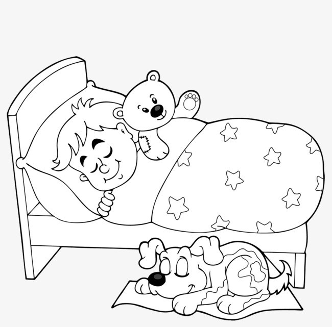 Sleep black and white clipart jpg royalty free download Sleep clipart black and white 2 » Clipart Portal jpg royalty free download