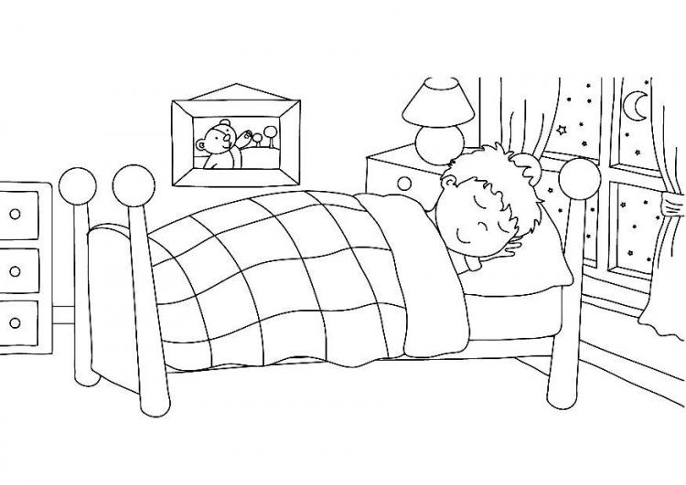 Go to sleep clipart black and white svg library stock Free Bedtime Clipart Black And White, Download Free Clip Art, Free ... svg library stock