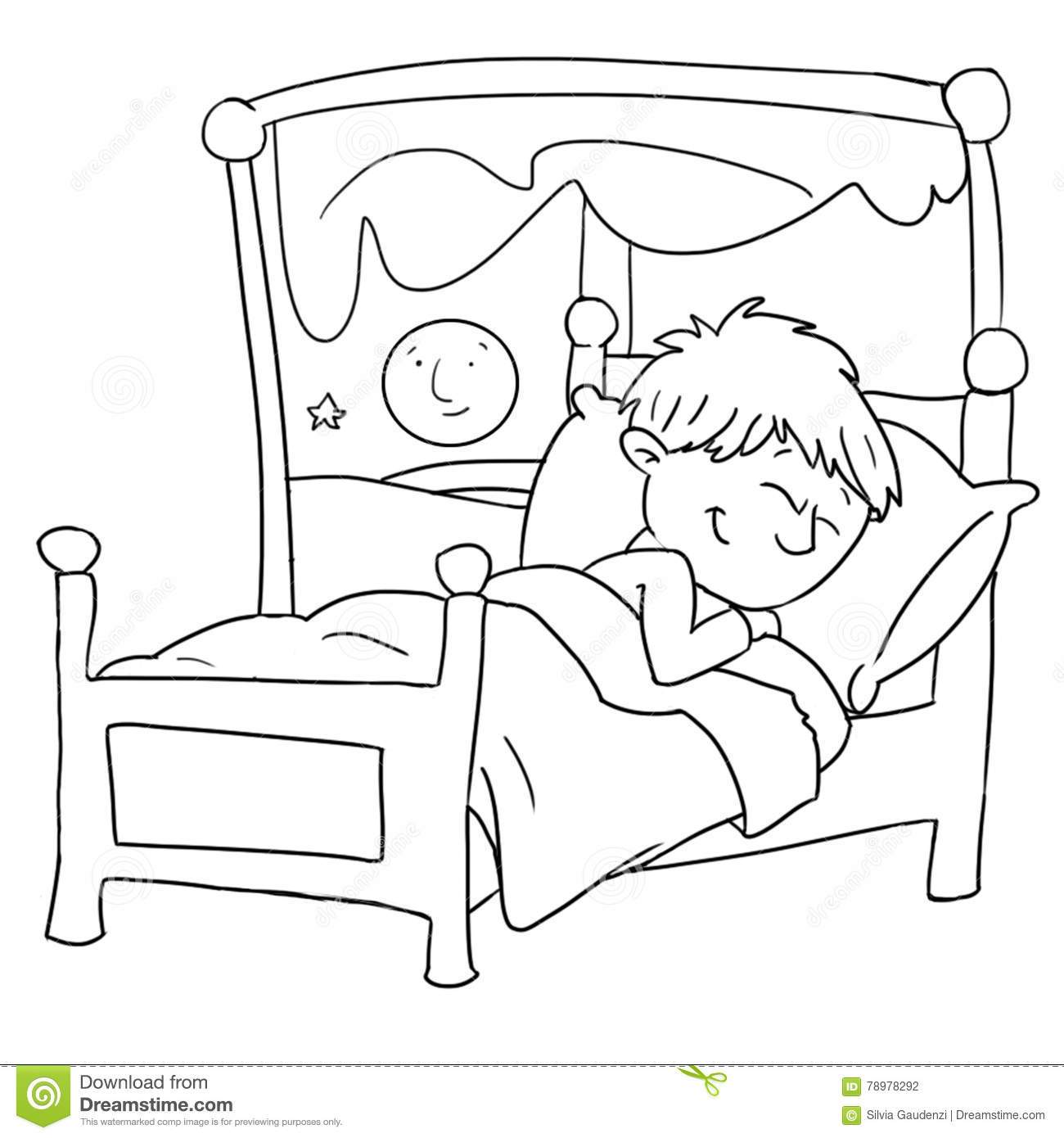 Sleep black and white clipart clip art freeuse library Sleeping child clipart black and white 1 » Clipart Portal clip art freeuse library