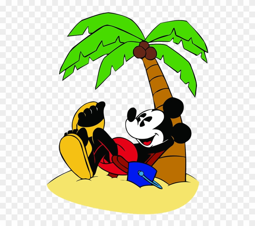 Go to the beach clipart banner transparent download Go To Image - Mickey And Minnie Beach Clipart (#988834) - PinClipart banner transparent download