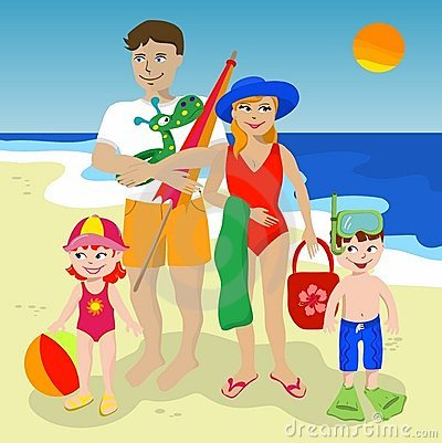 Go to the beach clipart free Go to the beach clipart 6 » Clipart Station free