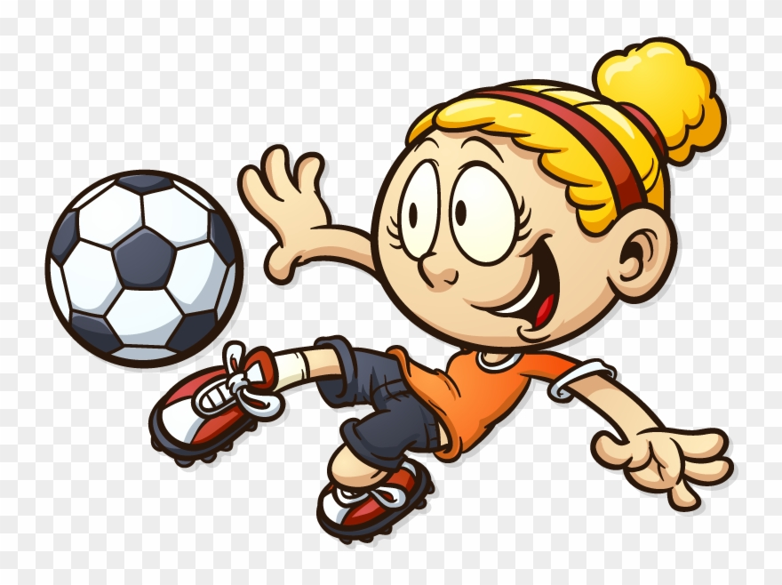 Goal clipart for kids vector Ready Steady Goal Football - Kids Football Cartoon Clipart (#598773 ... vector