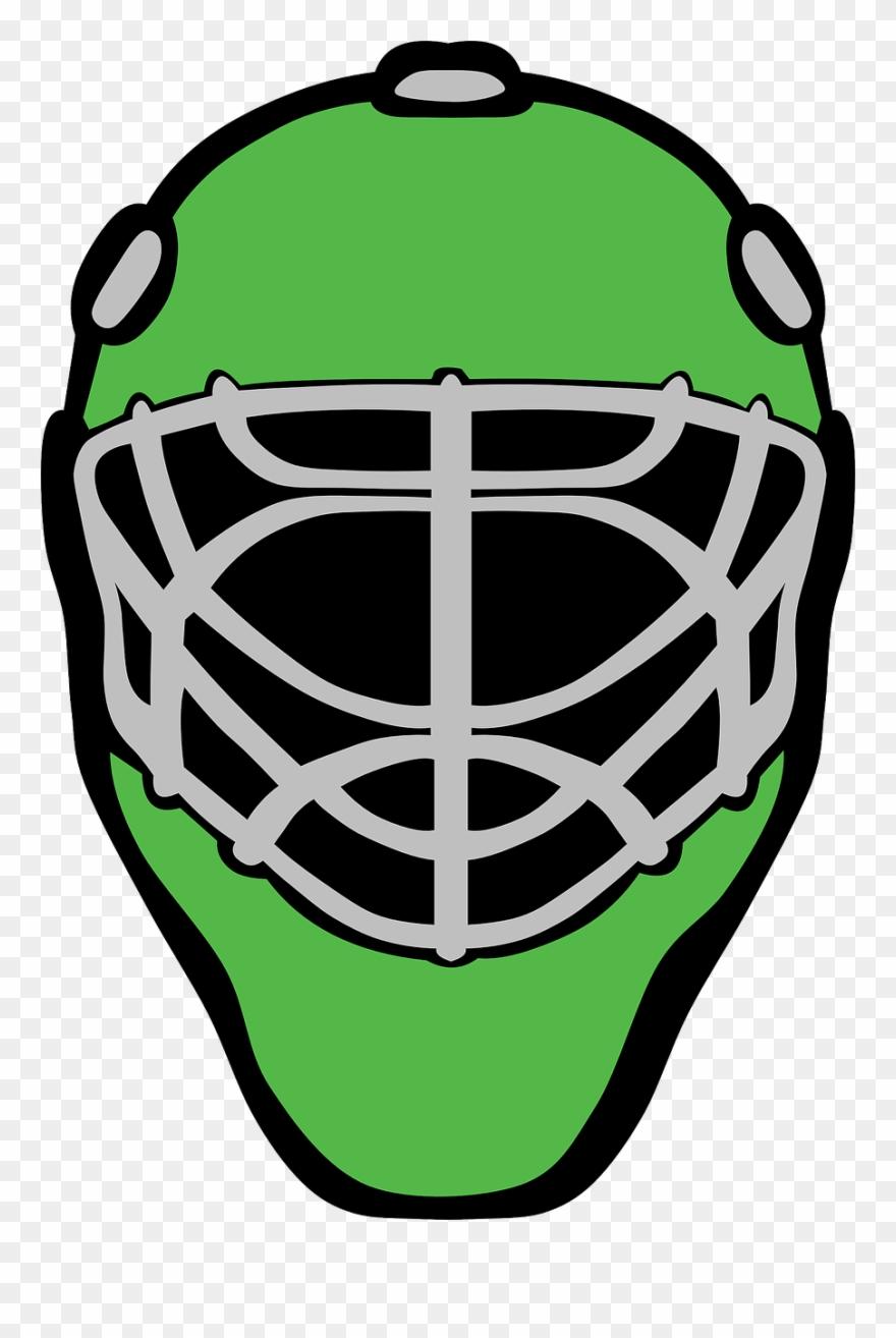 Goaltender Mask Ice Hockey - Hockey Goalie Mask Vector Clipart ... banner royalty free stock