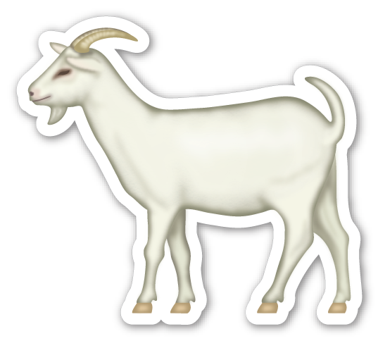Goat emoji clipart clip art transparent library Goat | emoticons animal | Goat farming, Goats, Emoji stickers clip art transparent library