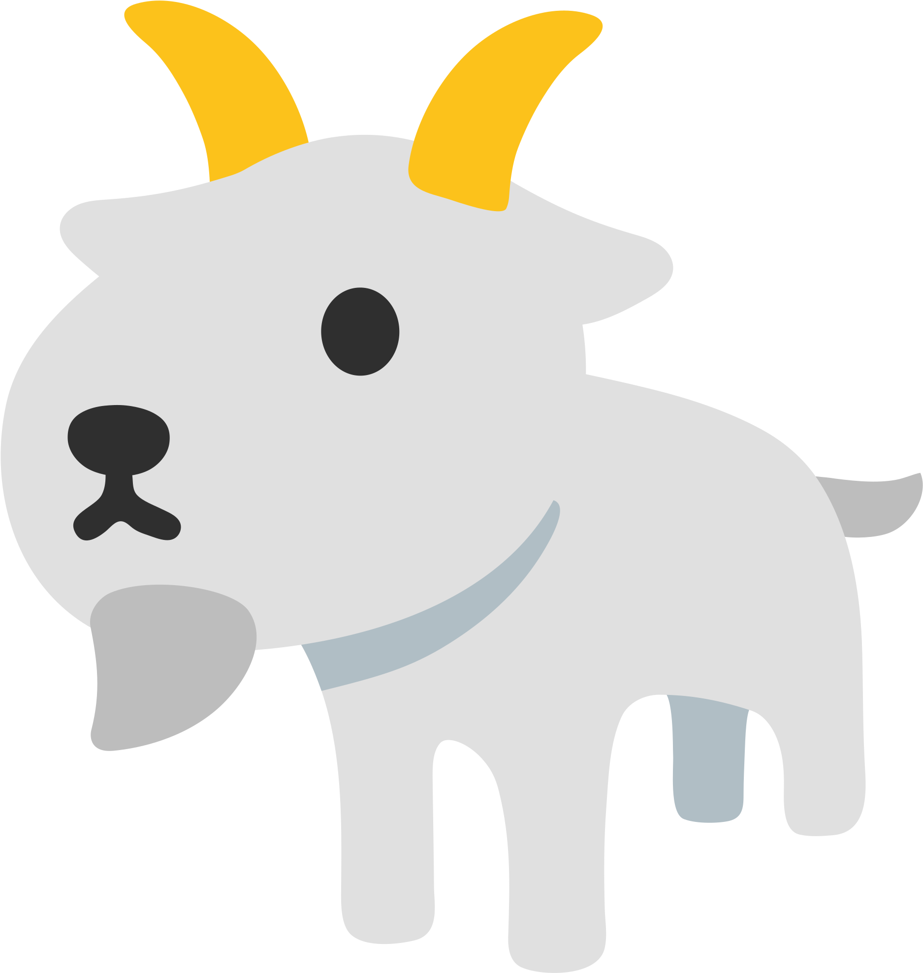 Goat emoji clipart picture royalty free stock HD File - Emoji U1f410 - Svg - Transparent Goat Emoji Png ... picture royalty free stock