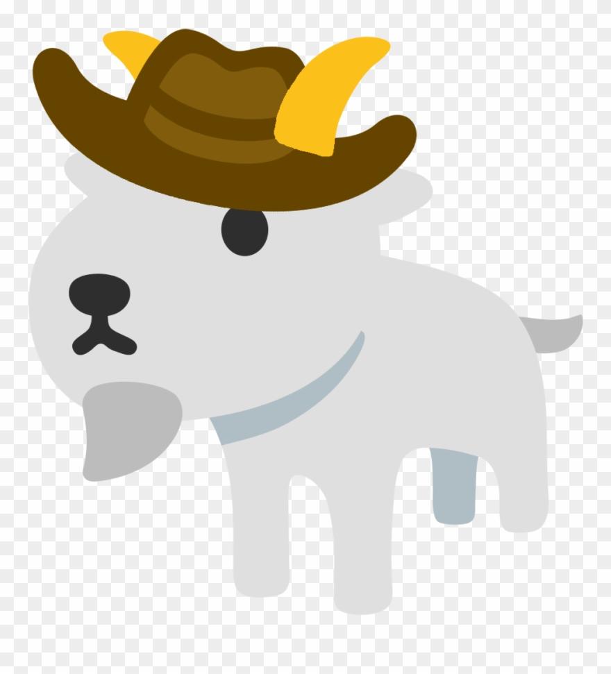 Goat emoji clipart banner freeuse download Ios Goat Emoji Clipart (#1200180) - PinClipart banner freeuse download