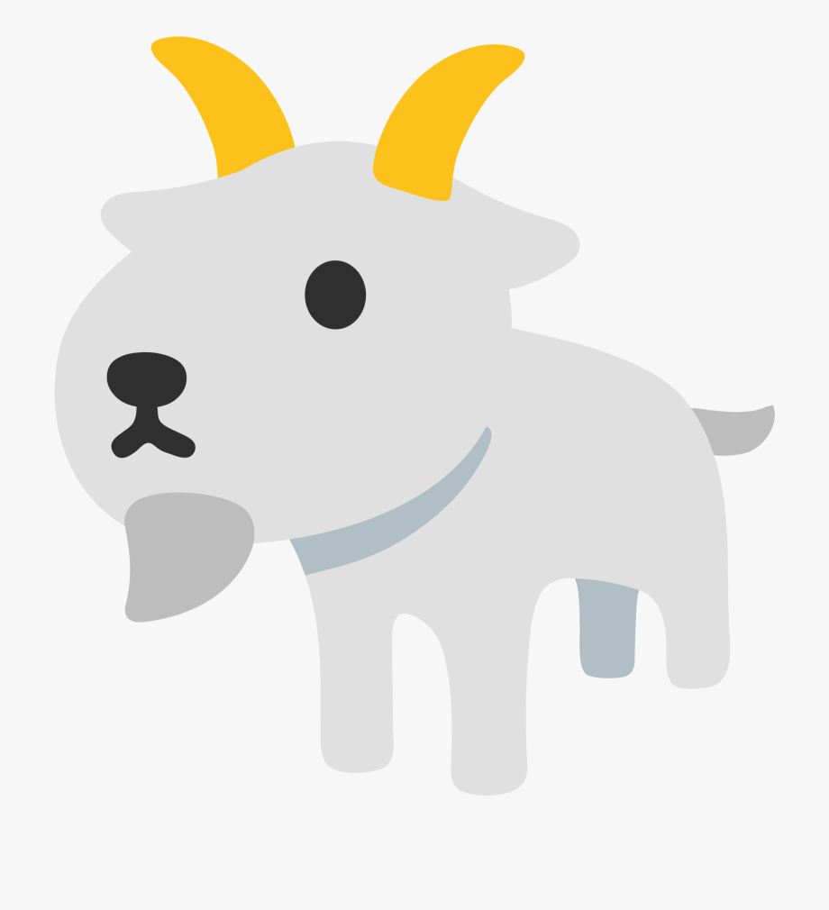 Goat emoji clipart png freeuse library Goat Emoji Png - Transparent Goat Emoji Png #707385 - Free Cliparts ... png freeuse library