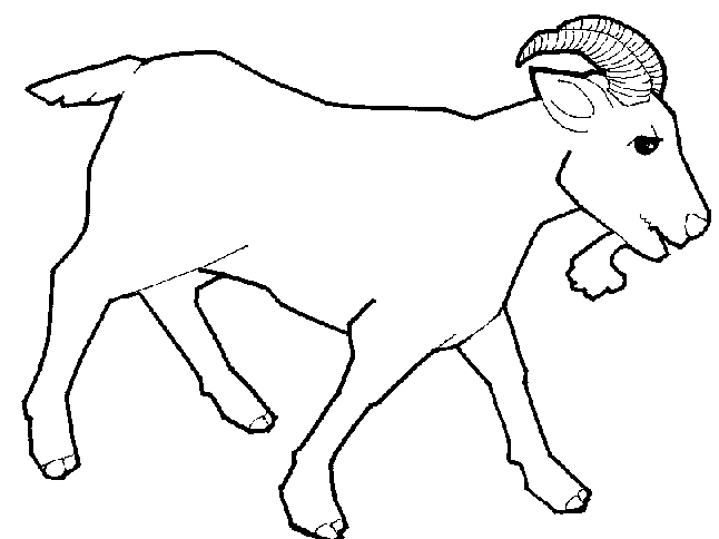 Goat outline clipart clipart freeuse stock Free Goat Cliparts, Download Free Clip Art, Free Clip Art on Clipart ... clipart freeuse stock
