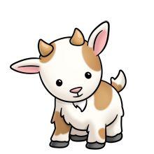 Goat with kids clipart vector free download GOAT / COW CLIP ART | CLIP ART - FARM - CLIPART | Pinterest | Clip ... vector free download