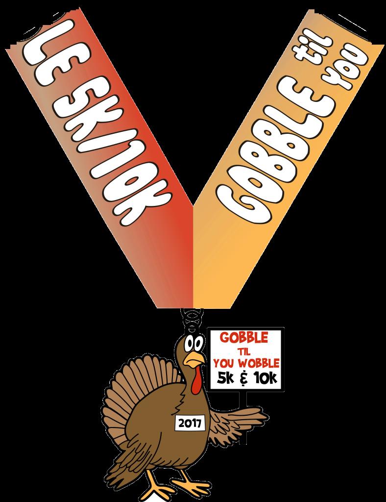 Turkey gobble clipart jpg royalty free download Gobble Til You Wobble 5K & 10K jpg royalty free download