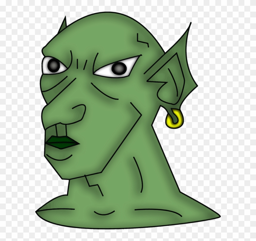 Goblins clipart vector stock Goblin Orc Troll Monster Elf - Skyrim Elder Scrolls Goblin Clipart ... vector stock