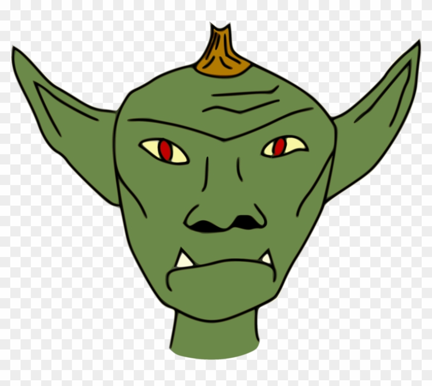 Goblins clipart banner royalty free library Green Goblin Drawing Orc - Goblin Clipart, HD Png Download - 873x750 ... banner royalty free library