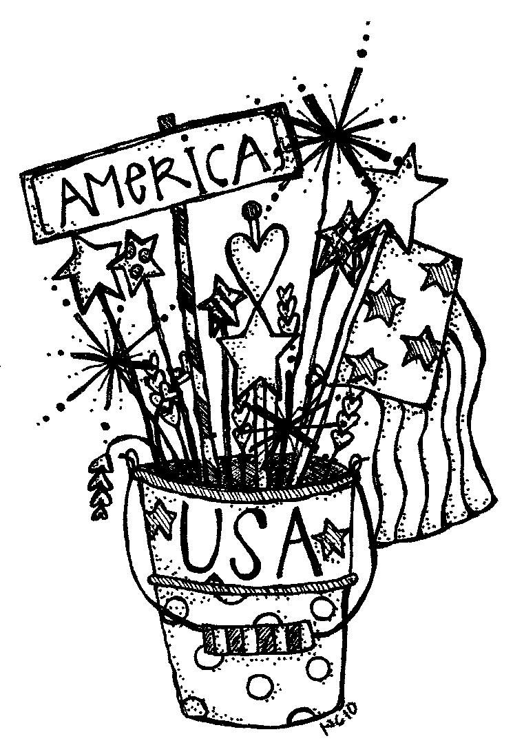 God bless america clipart black and white clip stock Patriotic stuff | Oh Scrap!!! | 4th of july decorations, 4th of july ... clip stock