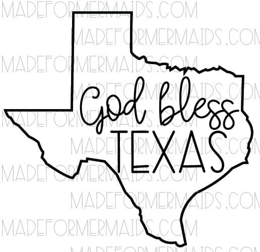 God bless texas clipart black and white image stock Texas Drawing at PaintingValley.com | Explore collection of Texas ... image stock