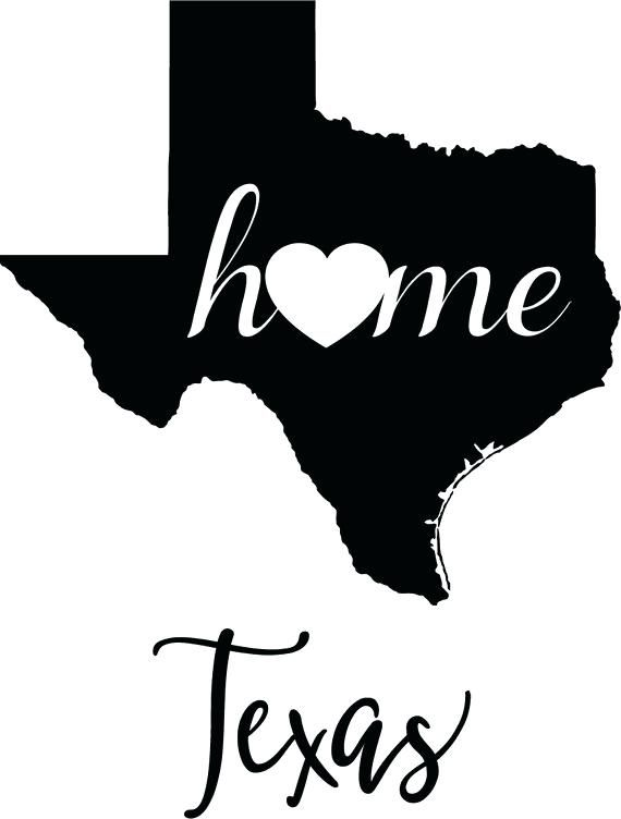 God bless texas clipart black and white clip transparent library outline of texas clip art state map digital file vector graphic clip ... clip transparent library