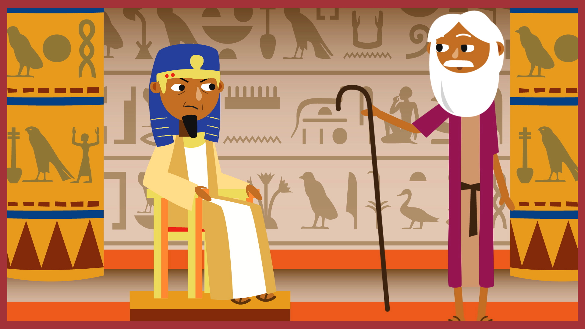God helped moses to be a leader clipart clipart transparent download School Radio - Assemblies KS1 - Judaism - What makes a good leader? clipart transparent download