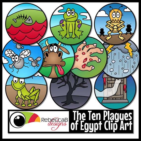 God helped moses to be a leader clipart png royalty free download Ten Plagues of Egypt Clip Art (Moses), Ten Plagues Clip Art ... png royalty free download