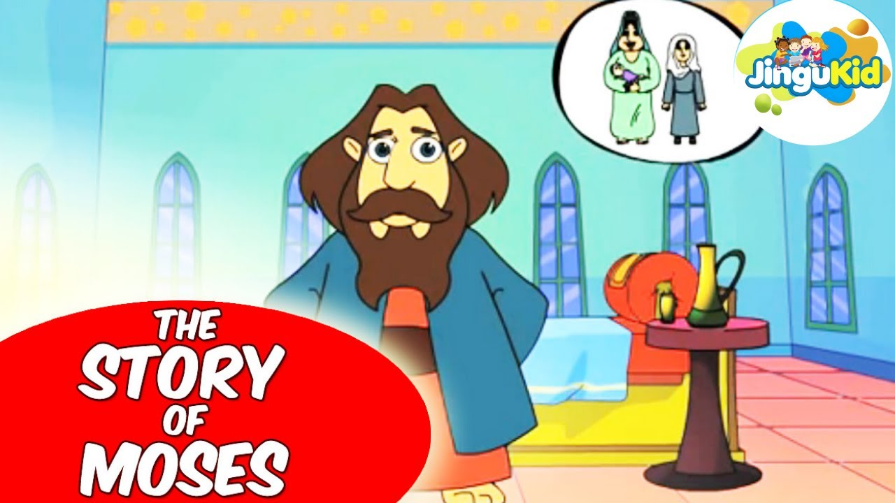 God helped moses to be a leader clipart clip art royalty free download Best Bible stories for kids | The Story Of Moses | 3D Animation Stories for  Kids -Cartoons For Kids clip art royalty free download