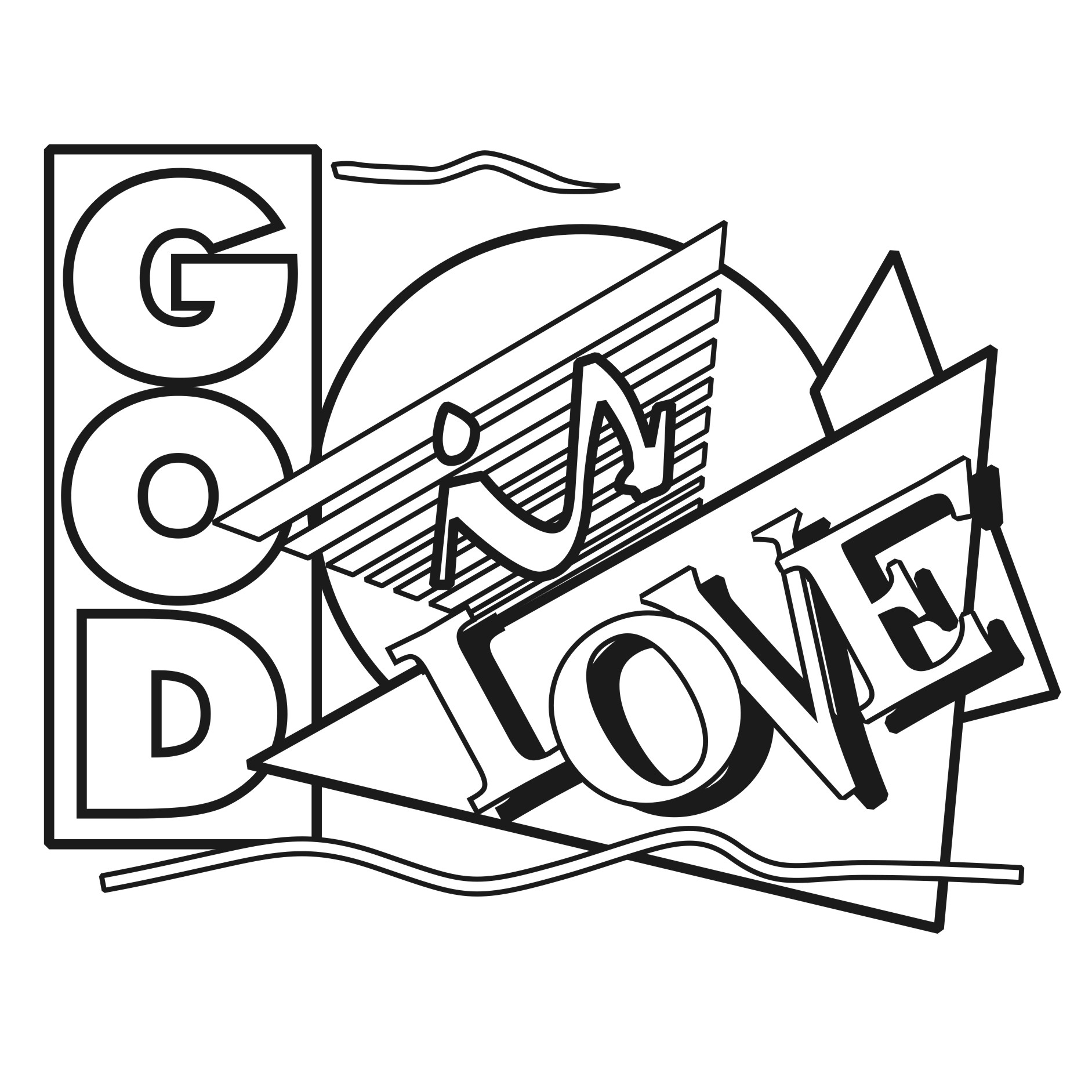 God is love clipart black and white graphic free stock Free Christian Love Cliparts, Download Free Clip Art, Free Clip Art ... graphic free stock