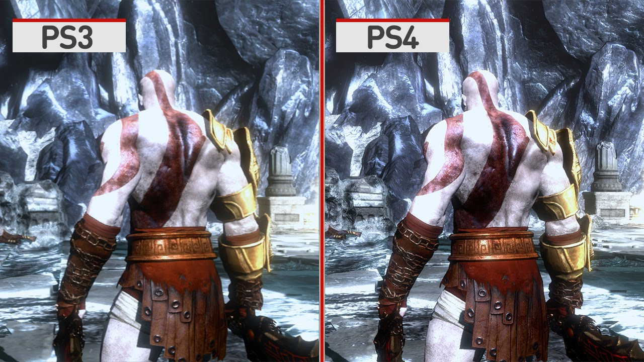 God of war 4 clipart vector library library God of War 3 Remastered Graphics Comparison vector library library