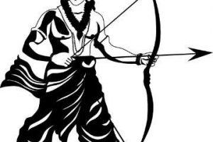 God ram clipart image black and white Shri ram clipart 1 » Clipart Station image black and white