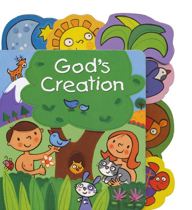 God s creation clipart graphic free download God\'s Creation Tabbed Board Book graphic free download