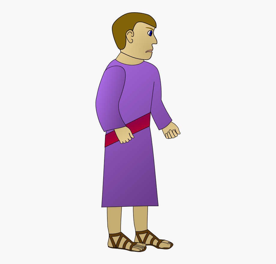 Going away clipart jpg free Rich Young Man Going Away Sad - Man With Robe Clipart #1014381 ... jpg free