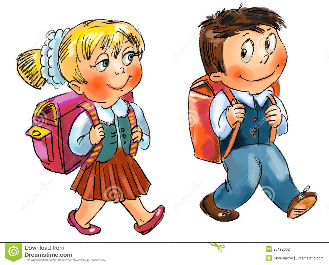Going clipart picture stock Boy Going To School Clipart Clipart school | Cliparts | How to draw ... picture stock