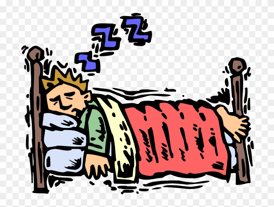 Falling Asleep In Bed Clipart - Go To Bed Sleep - Png Download ... clip art free download