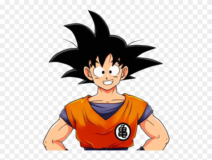 Goku clipart hd clip art black and white stock Son Goku - Dragon Ball Teen Goku Clipart (#3508557) - PinClipart clip art black and white stock