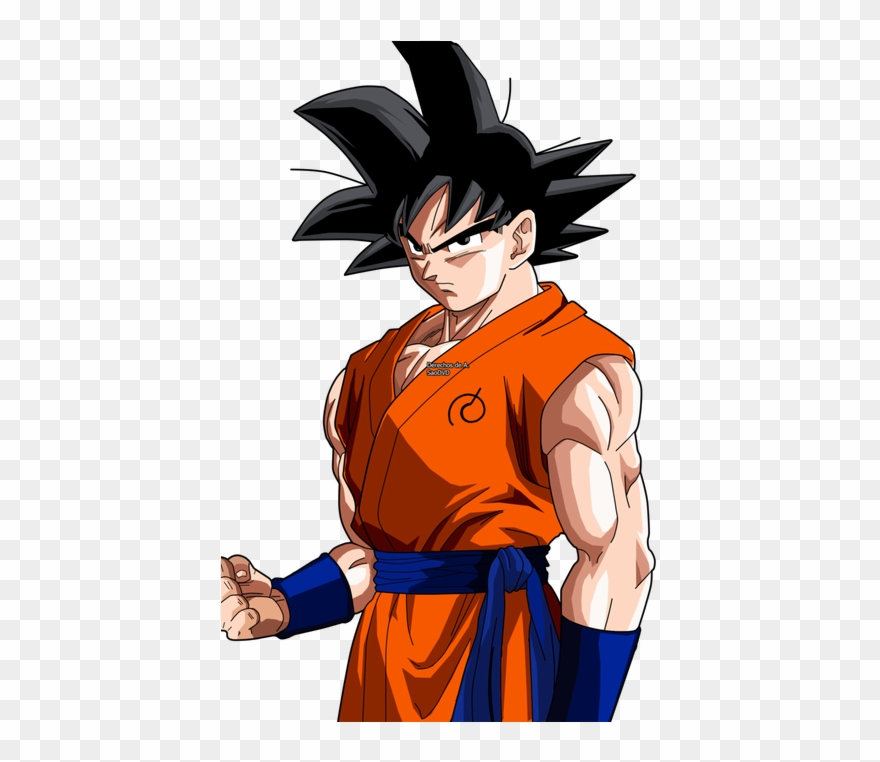 Goku dragon ball super clipart