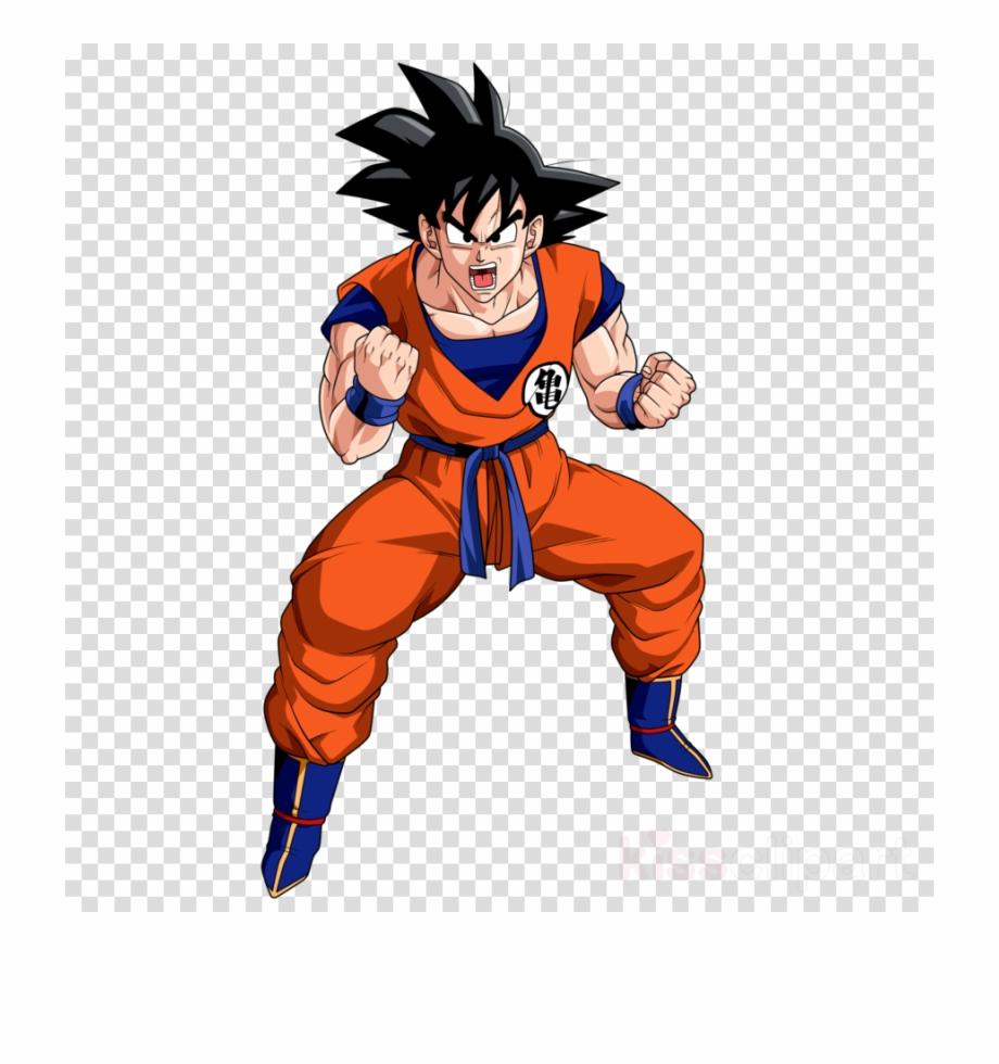 Goku Battle Clipart Goku Gohan Majin Buu - Dragon Ball Z Goku ... banner freeuse