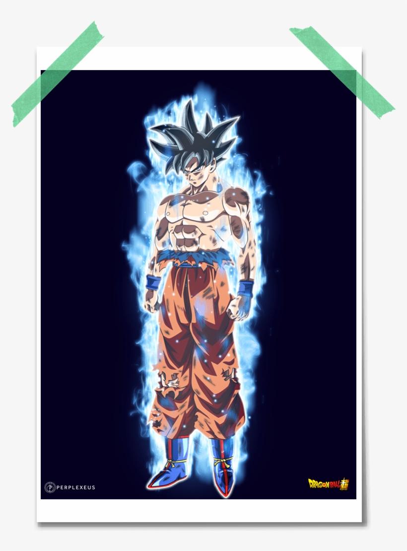 Goku migatte no gokui clipart banner black and white library Dragon Ball Super - Goku Migatte No Gokui - Free Transparent PNG ... banner black and white library