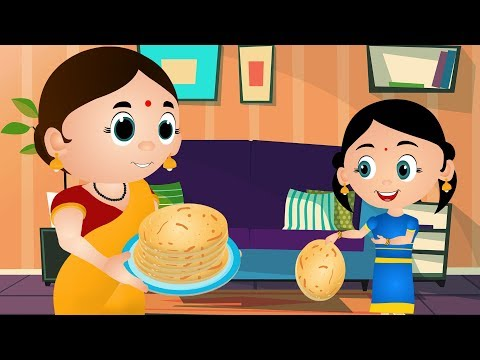 Gol tv clipart vector black and white Mummy Ki Roti Gol Gol - Hindi Rhymes | मम्मी की रोटी गोल | Hindi Nursery  Rhymes for Children vector black and white