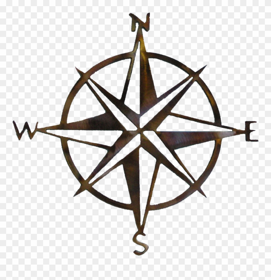 Golbe not who all who wander are lost clipart graphic library library Compass Rose Wall Art - Not All Who Wander Are Lost Vinyl Clipart ... graphic library library