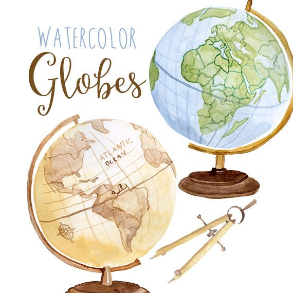 Golbe not who all who wander are lost clipart clipart transparent Watercolor Globes, Globe Clip Art, Planet, Educational Clip art ... clipart transparent