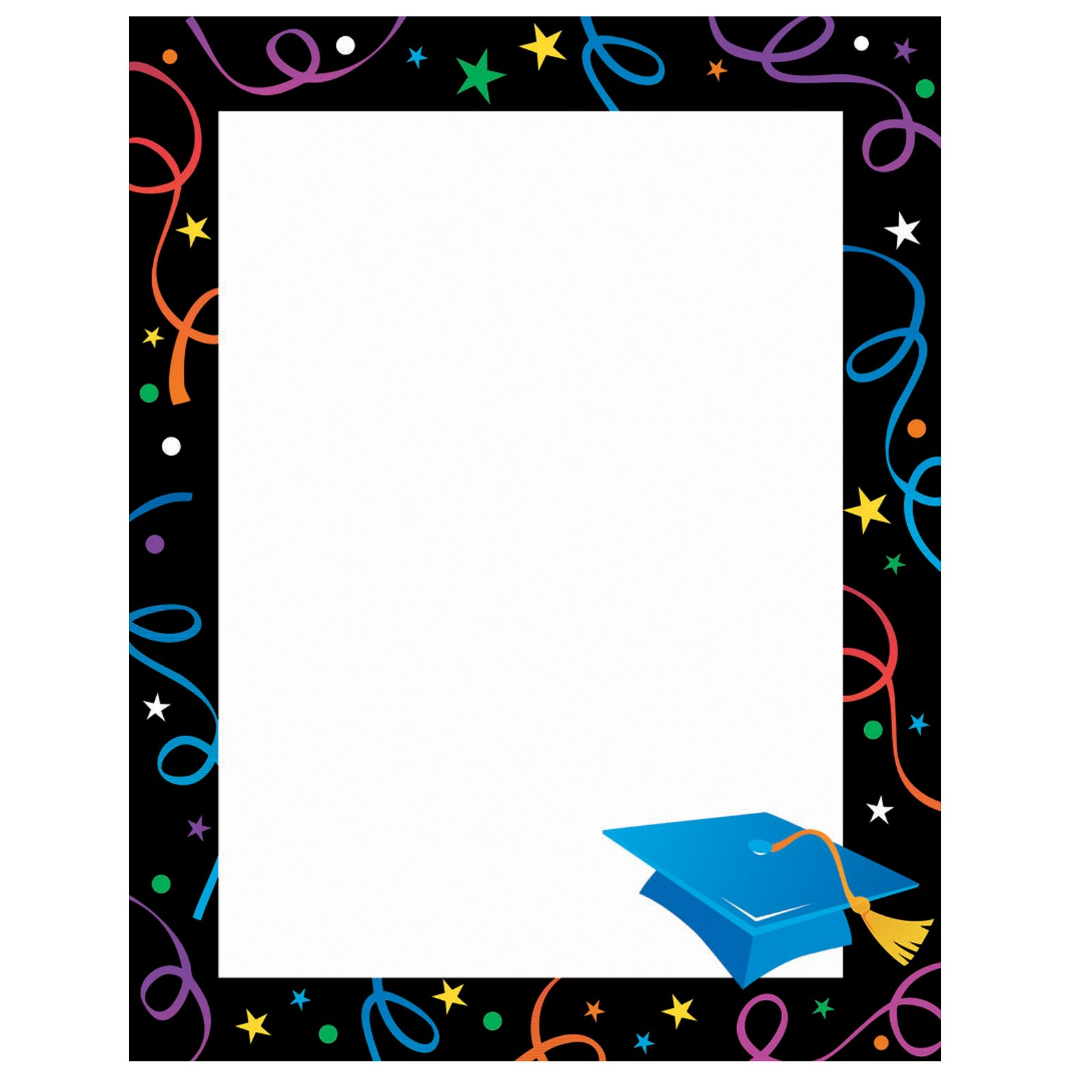 Gold and black graduation border paper clipart clip art black and white Free Graduation Cliparts Borders, Download Free Clip Art, Free Clip ... clip art black and white