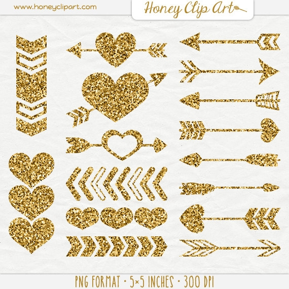 Gold arrow clipart picture black and white download Gold Arrow Clipart - clipartsgram.com picture black and white download