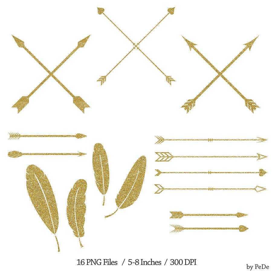 Gold arrow clipart graphic transparent stock Gold arrow clipart - ClipartFest graphic transparent stock
