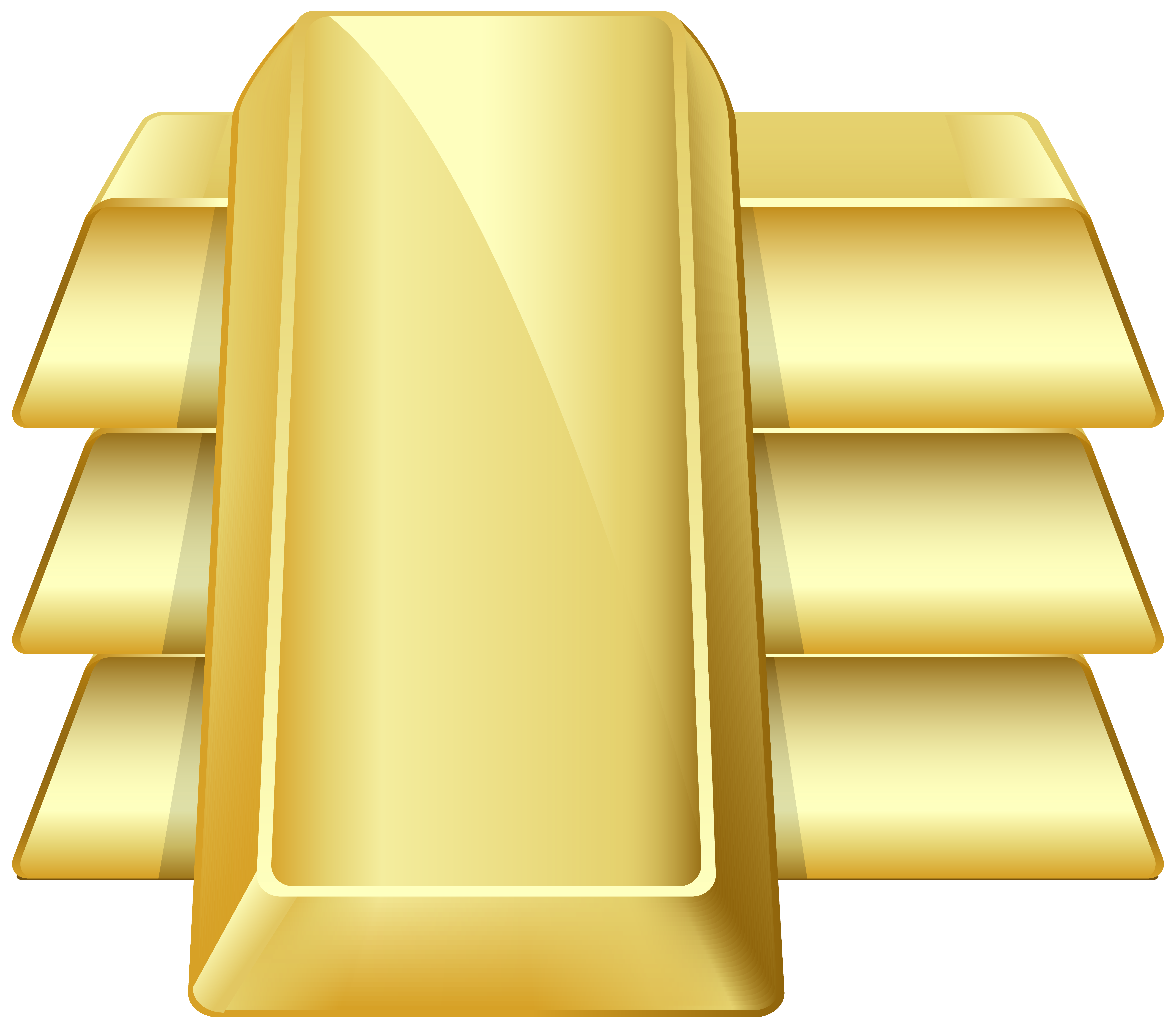 Gold bars clipart graphic stock Gold Bars Transparent PNG Clip Art Image | Gallery Yopriceville ... graphic stock
