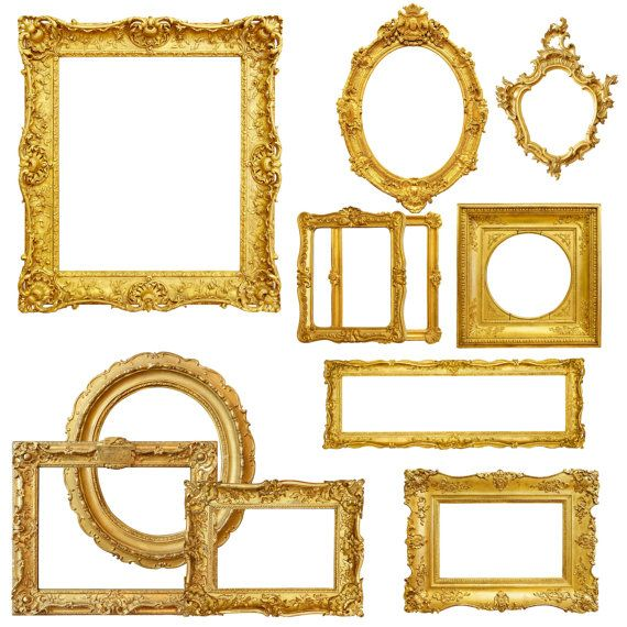 Gold block frames clipart clip library download 17 Best ideas about Gold Picture Frames on Pinterest | Silver ... clip library download