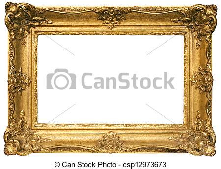 Gold block frames clipart clip art transparent stock Clipart images of gold frames - ClipartFest clip art transparent stock