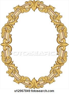 Gold block frames clipart image freeuse download Clipart images of gold frames - ClipartFest image freeuse download