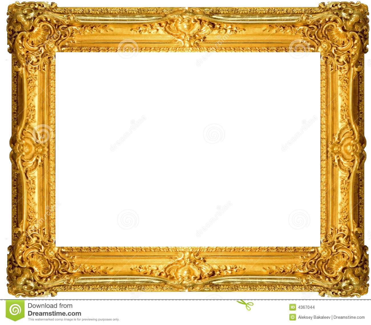 Gold block frames clipart banner black and white library Clipart images of gold frames - ClipartFest banner black and white library
